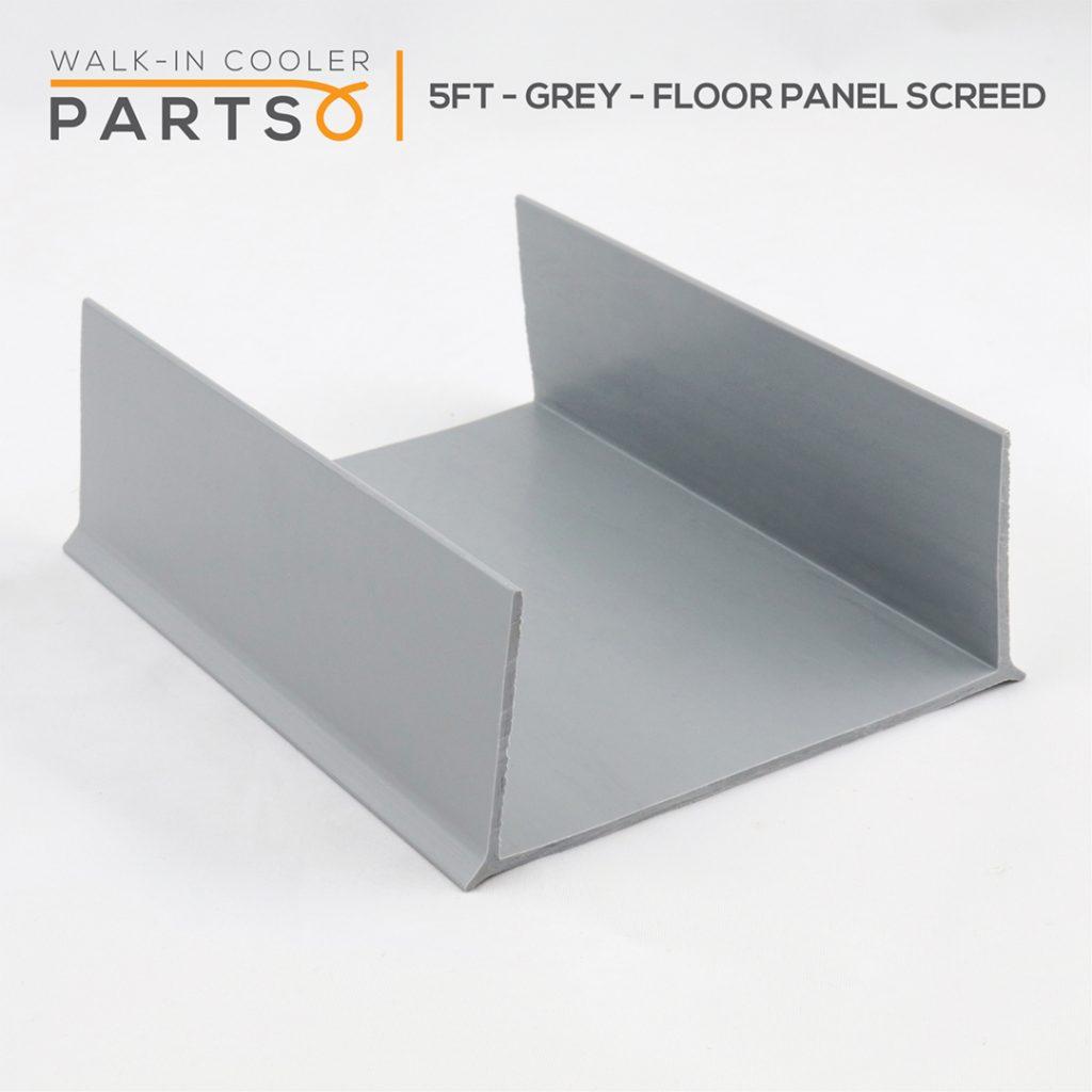 5 Foot Grey Floor Panel Screed