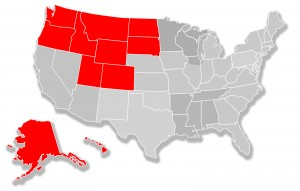 Northwest / Mountain States Territory