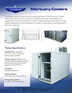 Mortuary Box Brochure