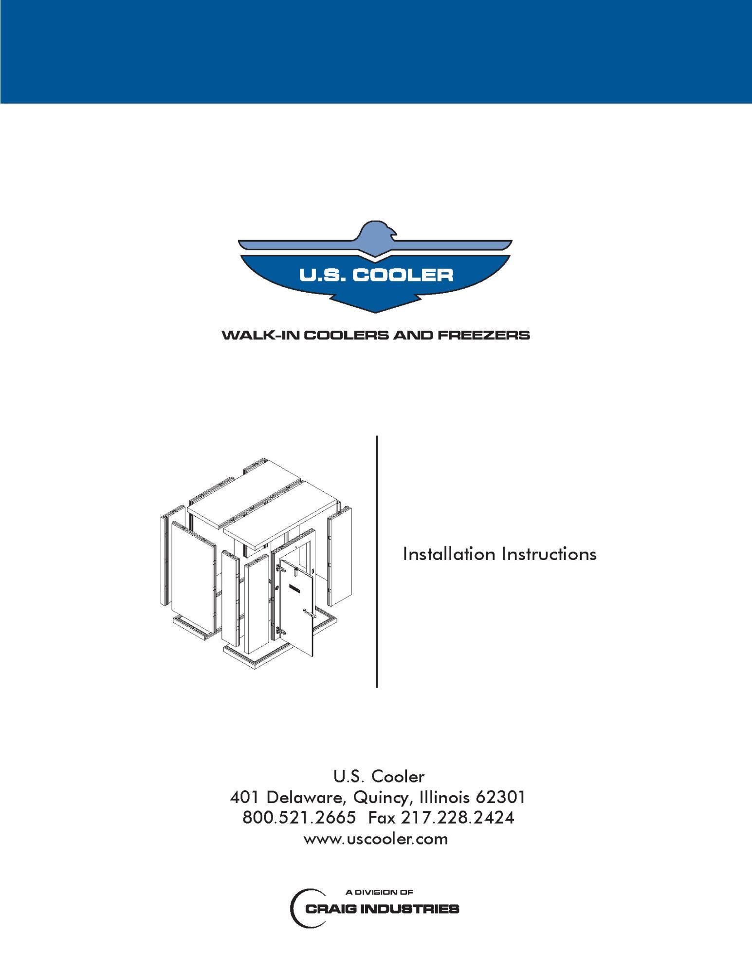 walk in installation instructions pdf