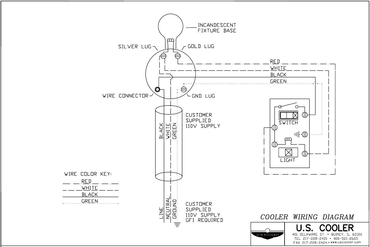 Technical Design Drawings – U.S. Cooler on