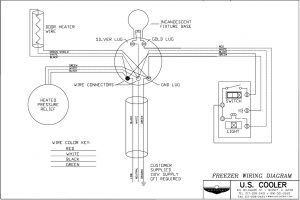 freezer wiring diagram \u2013 u s cooler Kenmore Freezer Wiring-Diagram