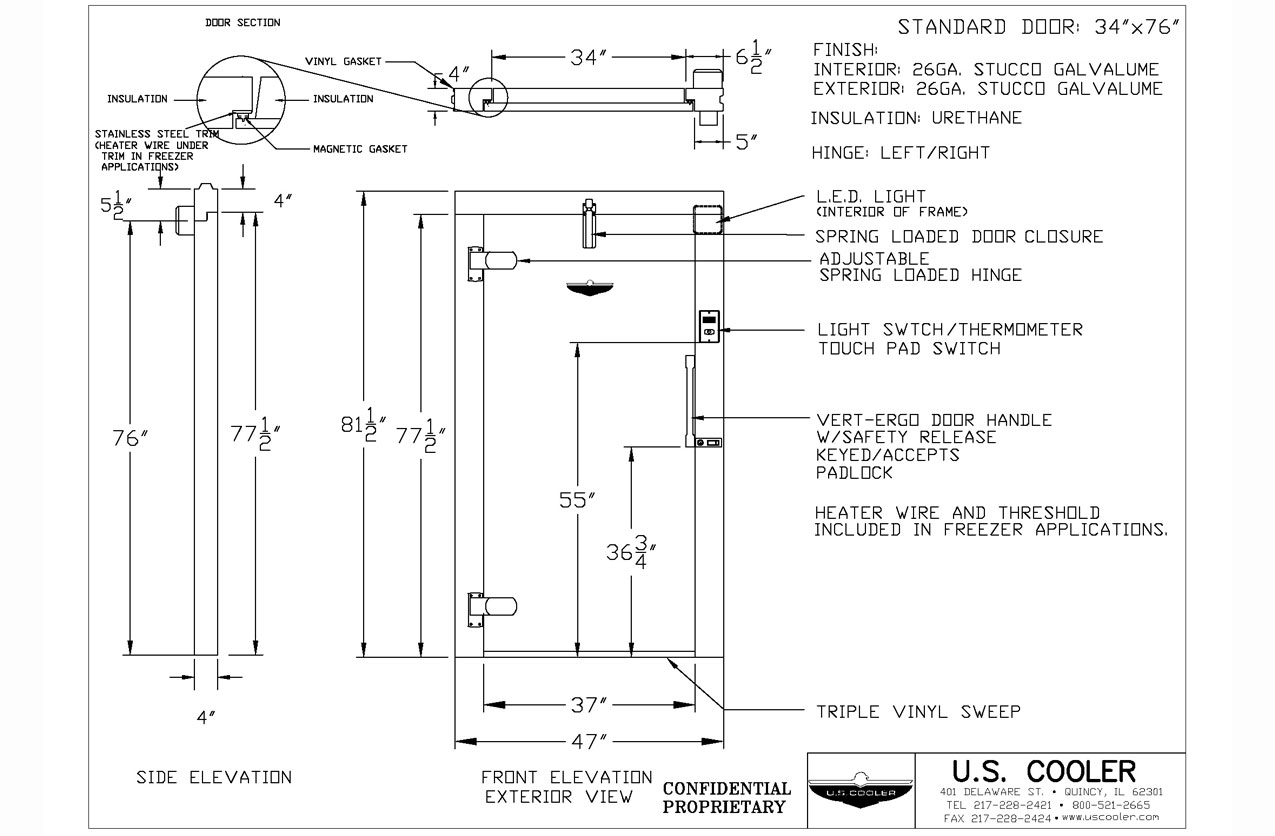 Wiring Diagram Walk In Cooler Manual Of Norlake Diagrams Technical Design Drawings U S Basic For Electrical