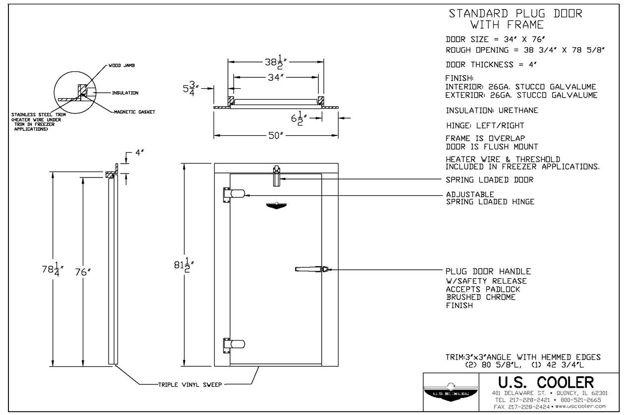 Technical Design Drawings  U2013 U S  Cooler