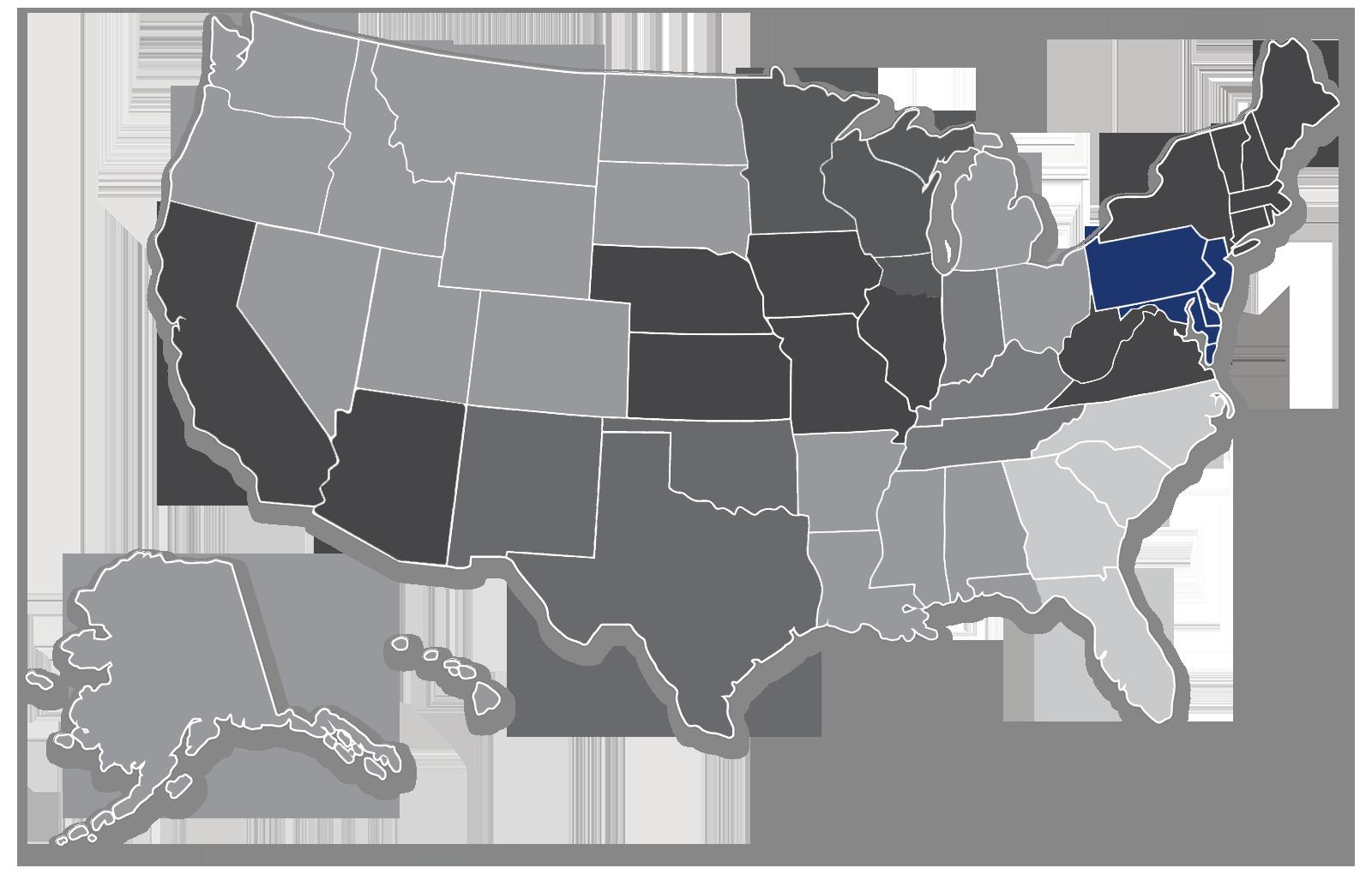 T15 - Mid-Atlantic Territory